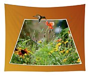 Humming Bird Out Of Bounds Tapestry