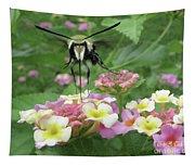 Hummingbird Moth Tapestry
