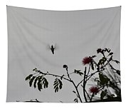 Hummingbird Silhouette I Tapestry