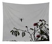 Hummingbird Silhouette I Tapestry