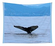 Humpback In Monterey Tapestry