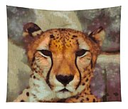 Hungry Cheetah Tapestry