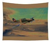 Hurricane Fighter Plane 2 Tapestry