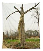 Hurricane Katrina Resurrection Tree Tapestry