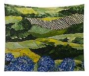 Hydrangea Valley Tapestry