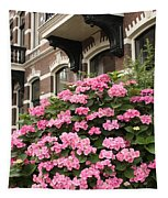 Hydrangeas In Holland Tapestry
