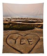 I Heart Yee Tapestry