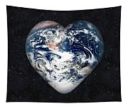 I Love Earth Tapestry