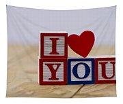 I Love You Tapestry