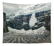 1m3545-01-ice Avalanche On Mt. Victoria Tapestry