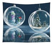 Ice Balls Tapestry