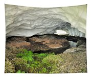 Ice Cave At The Mountains Tapestry