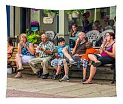 Ice Cream Eaters...an Observation Tapestry