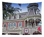 Ice Cream Parlor Main Street Walt Disney World Tapestry