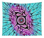 Ice Dragon Eye Tapestry