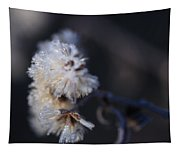 Ice Flowers Tapestry