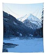 Iceblue Snow Tapestry