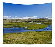Iceland Panorama Tapestry