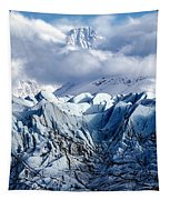 Icy Blue Tapestry