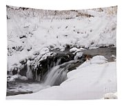 Icy Flow Tapestry