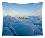 Icy Passage Tapestry