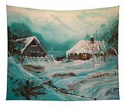 Icy Twilight Tapestry