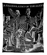 Idols  Of Egypt Tapestry
