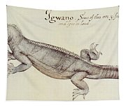 Iguana Tapestry