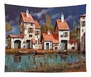 Il Villaggio Sul Lago Tapestry