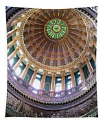 Illinois Capitol Dome Tapestry