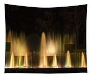Illuminated Dancing Fountains Tapestry