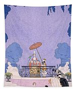 Illustration From A Book Of Fairy Tales Tapestry