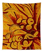 Imagination In Hot Vivid Yellows Tapestry