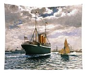 Immigrant Ship, 1893 Tapestry