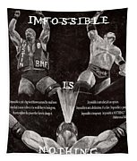 Impossible Is Nothing Tapestry