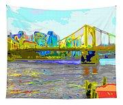 Impressionist Clemente Bridge 2 Tapestry
