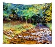 Impressionist Rocky Creek Tapestry