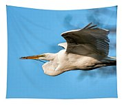 In Flight With Stick Tapestry