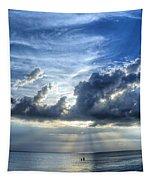 In Heaven's Light - Beach Ocean Art By Sharon Cummings Tapestry