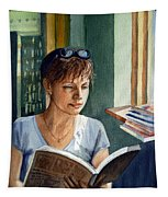 In The Book Store Tapestry