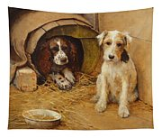 In The Dog House Tapestry