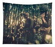In The Jungle - Vietnam Tapestry