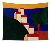 In The Provencal Alps Tapestry