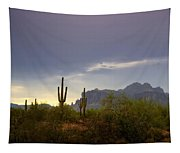 In The Shadows Of The Superstitions  Tapestry