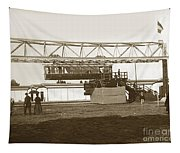 Incredible Hanging Railway  1900 Tapestry