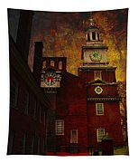 Independence Hall Philadelphia Let Freedom Ring Tapestry