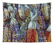 Indian Corn - Fall Colors Tapestry