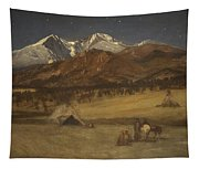 Indian Encampment - Evening Tapestry