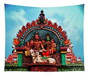 Indian Temple Tapestry