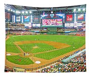 Indoors At Chase Field Tapestry